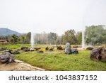 san kamphaeng hot springs in...   Shutterstock . vector #1043837152