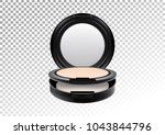 cosmetic realistic plastic... | Shutterstock .eps vector #1043844796