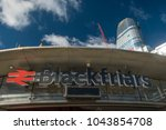one blackfriars seen under... | Shutterstock . vector #1043854708