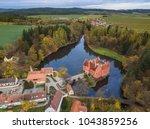 castle cervena lhota in czech... | Shutterstock . vector #1043859256
