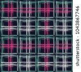 ethnic boho seamless pattern.... | Shutterstock .eps vector #1043867746