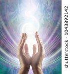 sensing spiralling healing... | Shutterstock . vector #1043892142