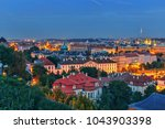 night view of the historic...   Shutterstock . vector #1043903398