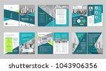 brochure creative design.... | Shutterstock .eps vector #1043906356