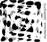 black and white grunge stripe... | Shutterstock .eps vector #1043916772
