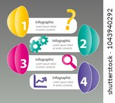 four steps info graphics   can... | Shutterstock .eps vector #1043940292