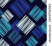 seamless geometric pattern.... | Shutterstock .eps vector #1043956582
