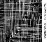 vector seamless grunge texture... | Shutterstock .eps vector #1043960398