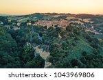 aerial view of torre di palme ... | Shutterstock . vector #1043969806