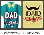 editable image greeting with... | Shutterstock .eps vector #1043978902