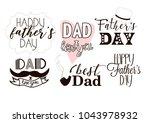 editable image greeting with... | Shutterstock .eps vector #1043978932