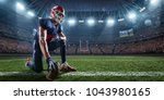 American Football Player In...