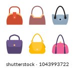 spring summer collection of... | Shutterstock .eps vector #1043993722