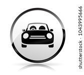 illustration of car icon on... | Shutterstock .eps vector #1043995666