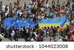 lutsk  volyn   ukraine   may 17 ... | Shutterstock . vector #1044023008