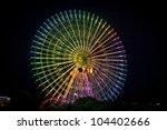 ferris wheel at night | Shutterstock . vector #104402666