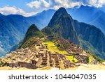 machu pichu peru   Shutterstock . vector #1044047035