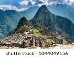 machu pichu peru | Shutterstock . vector #1044049156