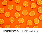Background of half cut oranges...