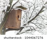 birdhouse on a tree in the...   Shutterstock . vector #1044067276