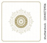 wedding save the date... | Shutterstock .eps vector #1044073906