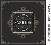 ornament logo design template... | Shutterstock .eps vector #1044086962
