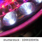 shiny led lights of a... | Shutterstock . vector #1044100456