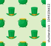 seamless pattern with... | Shutterstock .eps vector #1044106612