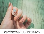 close up of elegant diamond...   Shutterstock . vector #1044110692