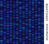 blue dna sequence results on... | Shutterstock .eps vector #1044113458