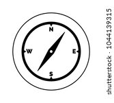 compass icon  logo