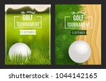 golf tournament poster... | Shutterstock .eps vector #1044142165