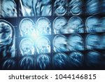 abstract image with motion blur ...   Shutterstock . vector #1044146815
