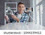 wonderful headphones. nice... | Shutterstock . vector #1044159412