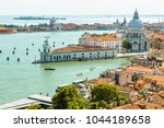 aerial marine view of venice in ... | Shutterstock . vector #1044189658