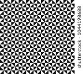vector mosaic pattern   black   ... | Shutterstock .eps vector #1044198688