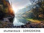 scenic image of fairytale... | Shutterstock . vector #1044204346