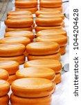 Gouda Cheese Blocks At Town...