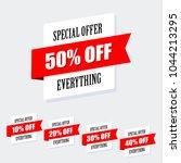 sale banner design  special...   Shutterstock .eps vector #1044213295