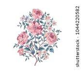 floral background. flower... | Shutterstock .eps vector #1044220582