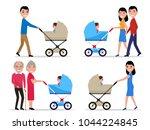 vector illustration set of...   Shutterstock .eps vector #1044224845
