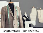 tailor's mannequin with formal... | Shutterstock . vector #1044226252