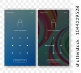 screen lock pattern password...