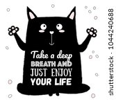 Vector Cartoon Sketch Cat...