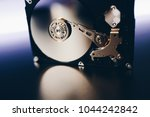 disassembled hard drive from... | Shutterstock . vector #1044242842