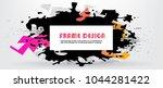 vector frame for text modern... | Shutterstock .eps vector #1044281422