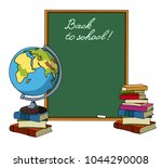 back to school. frame for your... | Shutterstock .eps vector #1044290008