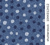 polka dots background. vector...   Shutterstock .eps vector #1044312412