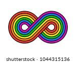 illustration of infinity...   Shutterstock .eps vector #1044315136