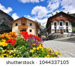 courmayeur  italy   june 23 ... | Shutterstock . vector #1044337105